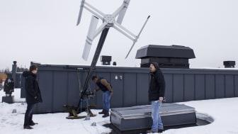 Ny is och snöforskning på vindkraftverk