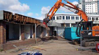 Wolverhampton station demolition begins