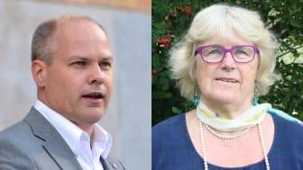 Morgan Johansson och Karin Fridell Anter