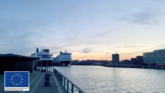 Now the DFDS ferries in Copenhagen will be receiving shore power