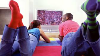 Salget av store TV-skjermer tar av til OL