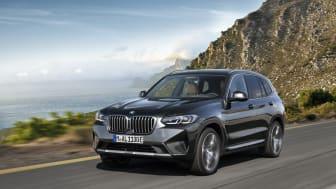 Nye BMW X3: Oppdatert allsidig kjøreglede