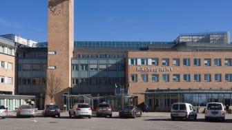 Alle transplantasjoner foregår på Oslo Universitetssykehus, Rikshospitalet. Foto: Grethe Ulgjell / Alamy Stock Photo