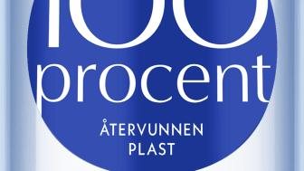 Alla Aqua d'Or-flaskor nu i 100% återvunnen plast