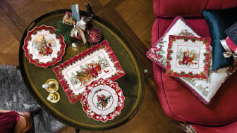 Celebrate traditions – With nostalgic Christmas decorations from Villeroy & Boch