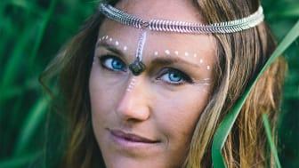 Yogobes nya internationella stjärna Sarah-Jane Perman.