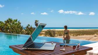 Det perfekta klimatet på Kanarieöarna ska locka fler digitala nomader att uppleva workcation på Kanarieöarna.