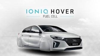 Lanserer ny flyvende IONIQ