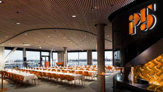P5 – konferens, mötesplats, event. Nominerad i kategorin Visual Merchandising, Svenska Designpriset 2016.