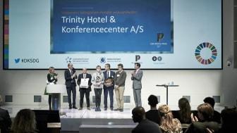 Trinity Hotel & Konference Center i Fredericia vandt CSR People Prize 2017 for mindre virksomheder