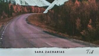 "Omslag - Sara Zacharias ""Tid"""