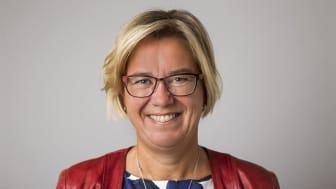 Förbundsordförande Lotta Håkansson