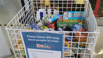 Bedford donation box