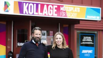 På Kollage finns bland andra Jobbpunkt Mimer med Maria Lindelöf, projektledare och Åke Larsson, coach.