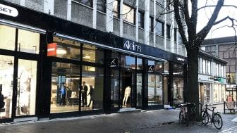 Her i Nordre gate 12 kommer Bergans brand-butikk i Trondheim. Foto: Bergans