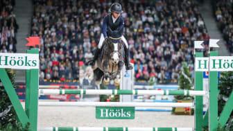 Lilly Johansson på Small Titan i Prins Carl Philips Pris, presented by Hööks, under Sweden International Horse Show 2019. Foto: Pernilla Hägg