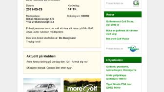 Svenska Golfförbundets nya mediekanal en succé