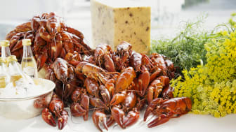 Crayfish party at the Veranda