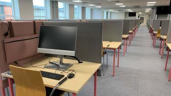 Digital tentamen: Första salen med 350 platser invigs