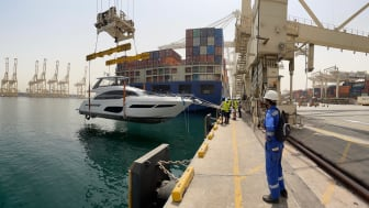 Current pressures on global freight transportation is also impacting yacht movements