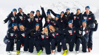 Nu blir Ski Team Sweden Alpine ambassadörer för kafferosteriet Löfbergs sortiment, inklusive kalla kaffe- och funktionsdrycker.