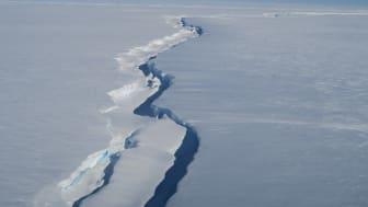 Chasm 1 in the Brunt Ice Shelf (credit Jan De Rydt)
