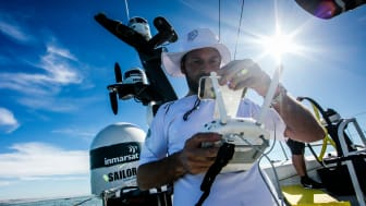 Inmarsat's FleetBroadband powered the digital content delivery from the race yachts throughout the 2017-18 Volvo Ocean Race