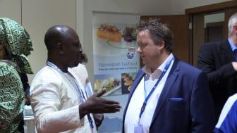 Norsk sjømatseminar i Nigeria