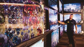 Stora TV apparater och robotdammsugare har varit storsäljare under våren och sommaren