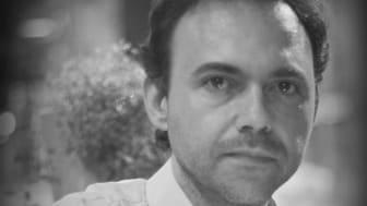 Israeli poet Eran Hadas at the International Text Festival