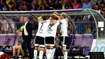 Blir det mer UEFA Champions League-jubel for Rosenborg? FOTO: Ritzau Scanpix