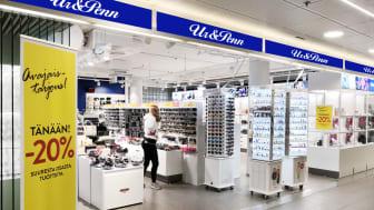 Ur&Penn avasi myymälän Vaasaan