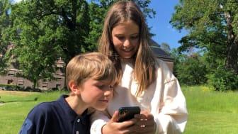 Mysteriet i parken - Barn med app