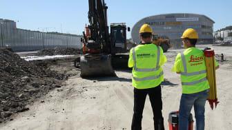 Vi är två av Sveriges ledande företag inom mätningsutrustning och maskinstyrning.