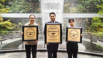 Singapore Changi Airport is named the World's Best Airport for the eighth consecutive year at the 2020 World Airport Awards