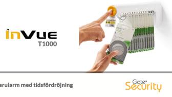 InVue T1000 - Varularm med tidsfördröjning