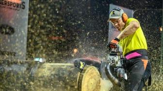 Sverige på sjunde plats i STIHL TIMBERSPORTS® European Nations Cup
