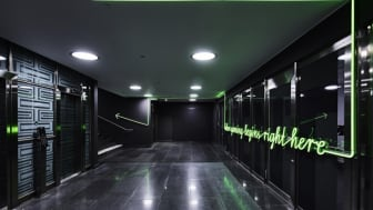 NetEnt kontor med LED-belysning i LPFLEX. Foto: Per Kristiansen
