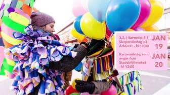 Barnkonventionen blir lag och det firas med en Barneval!