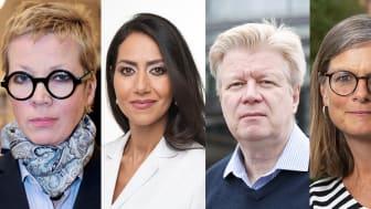Juryn som utser Bokmässans bildningsstipendiat 2018