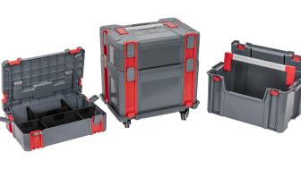 Verktygsstationen från PELA är den smarta verktygsförvaringen för till exempel servicebilen eller verkstaden.