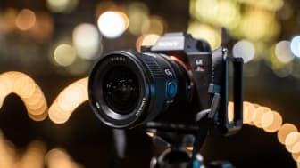 A Sony otimiza a sua gama de lentes full-frame com a introdução da nova objetiva FE 20mm F1.8 G Objetiva Prime ultragrande angular de grande abertura