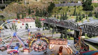 Storslagen åpning av Teknisk museums gedigne modelljernbane, lørdag 8. februar, kl. 13