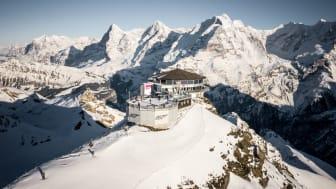 Gipfelgebäude Schilthorn - Piz Gloria