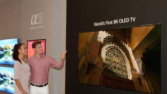 Verdens første 8K OLED-TV fra LG