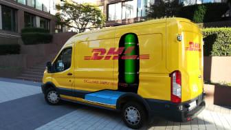 DHL og StreetScooter utvikler nye elektriske biler med hydrogenteknologi