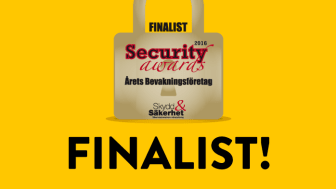 Mindmancer nominerat till Årets bevakningsföretag 2016