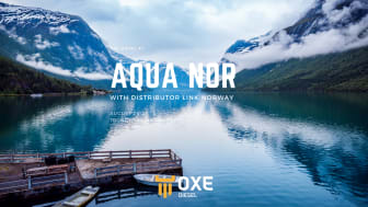 OXE Diesel displayed at the Aqua Nor 2021 by Link Norway