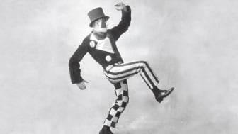 Jean Börlin. Foto: Dansmuseets arkiv
