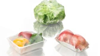 Dokumentation från BASF visar att plastens förmågor även sjudubblar hållbarhetstiden på bröd och grönsaker.